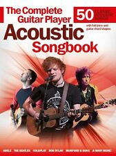 Complete Guitar Player Acoustic Songbook Learn to Play Rock Pop Hits Music Book