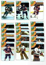 1X NY ISLANDERS 1978 1979 Topps TEAM SET Lots Availailable 78-79 BOSSY RC ROOKIE