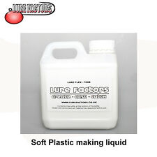 5Ltr FIRM GRADE LIQUID SOFT PLASTIC PLASTISOL FOR MAKING  SOFT BAIT  LURES