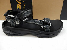 TEVA MENS SANDALS TERRA FI 4 CROSS TERRA BLACK SIZE 9