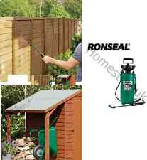 HIGH QUALITY RONSEAL SHED & FENCE PRESSURE PUMP SPRAYER PAINT GUN SPRAY C00553