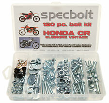 120pc Honda Elsinore Bolt Kit CR 125 250 MR MT Vintage CR125 CR250 MAINTENANCE