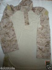 USMC Uniform Desert FROG Digital Marpat Combat Shirt MARINES MEDIUM REGULAR M-R