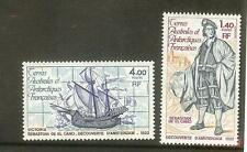 TIMBRES TAAF POSTE N° 84 A 85  COTE € 4.60