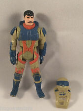 M.A.S.K. Firefly Julio Lopez Action Figure with Helmet Steamer Kenner Toy Car