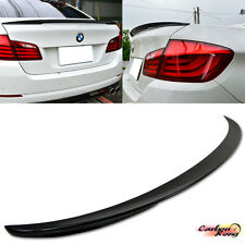 PAINTED BMW F10 4DR Performance 5-Series Rear Trunk Spoiler ABS 520i 528i 535i