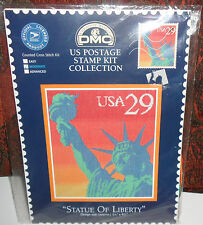 USPS DMC STATUE of LIBERTY Counted Cross Stitch Kit sealed #SC3122