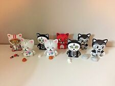 KidRobot Tricky Cats Lot of Vinyl Blind Box figures Designer