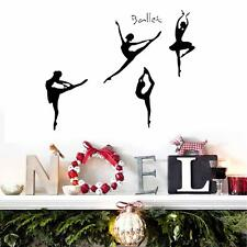 Modern Ballerina Dance Wall Sticker Room Wall Decal Sticker Decorations