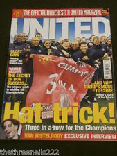MANCHESTER UNITED - CHAMPIONS THREE IN A ROW - JUNE 2001
