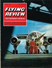 FLYING REVIEW INT JUL 68: GRUMMAN 18/ GERMAN ROTORS/ WEAPON AIMING SYSTEMS