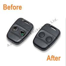 For Rover Lucas 100 200 400 25 45 2 button remote key fob REPAIR SERVICE FIX