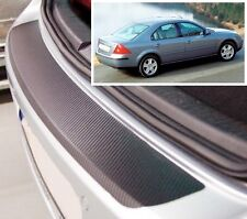 Ford Mondeo MK3 Hatchback - Carbon Style rear Bumper Protector