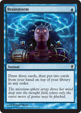 [1x] Brainstorm - Foil [x1] Conspiracy Near Mint, English -BFG- MTG Magic