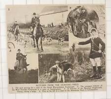 1920 North Warwickshire Foxhounds Atherstone Hunt Leicestershire
