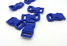 "New 10pcs 3/8"" Paracord Bracelet PLASTIC BUCKLE Paracord BUCKLE  navy blue"