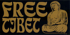 Free Tibet - Freedom for Tibet Bumper Sticker / Decal