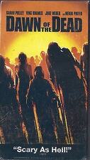 Dawn of the Dead (VHS, 2004) Sarah Polley, Jake Weber, Ving Rhames, Mekhi Phifer
