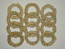 #12 NATURAL VINE RINGS FOR CHINCHILLAS, RATS, RABBITS, BIRDS