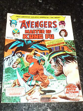 THE AVENGERS Staring SHANG-CHI Master of KUNG FU - No 30 - Date 13/04/1974