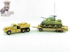 Corgi CC55108 1/50 Diamante T M20 con M4 Tanque Sherman Sidi Bou Zid, Túnez, 1943