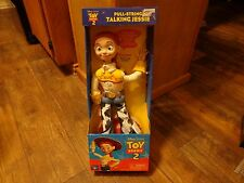 THINKWAY TOYS--DISNEY'S TOY STORY 2--PULL STRING TALKING JESSIE DOLL (NEW)