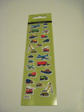 Scrapbooking Crafts Puffy Stickers Sandylion Boats Trains Planes Cranes Cars
