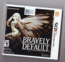 Bravely Default [Nintendo 3DS NDS DSi Video Game Exclusive RPG Action] NEW