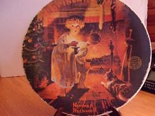 """Knowles Collectible Plate, """"Somebody's Up There"""", Plate Number 17,186G"""