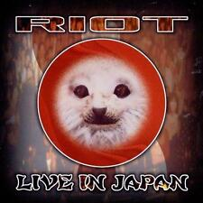RIOT - Live In Japan [Live](CD 1999) *NEW* Metal Blade Power/Speed Metal