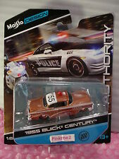 2016 Maisto Design Authority 1955 BUICK CENTURY✰Copper; MILITARY POLICE✰✰1:64