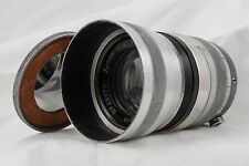 Schneider Gottingen Xenon F/2 12.5 cm 125mm RARE 1920s GERMAN LENS Serial#48375
