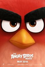 Angry Birds Advance Version A Original Movie Poster Double Sided 27x40 inches