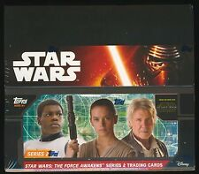 4 BOX LOT 2016 Topps Star Wars The Force Awakens Series 2 Retail SEALED (24-pk)