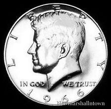 1966 SMS Kennedy Half Dollar 40% Silver U.S. Coin from Original SMS Set