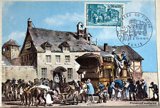 Yt 1749  FRANCE  Carte Postale Maximum RELAIS DE POSTE  1973
