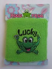7CD Lucky terry cloth stretch MOOD FROG WRISTBAND sweat wrist band