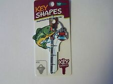 Fishing Schlage house key blank.