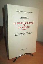 Le Parler Normand du Val de Saire (Manche)   René LEPELLEY - Normandie -Langue