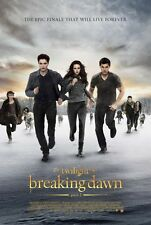 "TWILIGHT BREAKING DAWN PART 2 ""D"" 11.5x17 PROMO MOVIE POSTER"