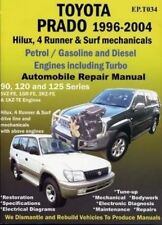 Toyota Landcruiser 1996 to 2004 book paper manual