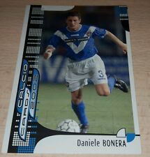 CARD CALCIATORI PANINI 2002 BRESCIA BONERA CALCIO FOOTBALL SOCCER ALBUM