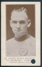 28 John Ross Roach RC 1923-24 William Patterson V145-1 Hockey Card St. Patricks