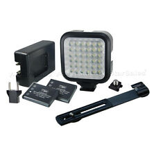 Vidpro Professional Photo/Video 36-LED Light Kit+Battery, Charger, Bracket