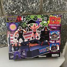 1999#Toy Biz Wcw Nwo#Smash'n'slam Wrestling Ring  Nib TOY BIZ