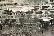 table chaise création mathieu MATEGOT design vintage jardin 1950 rigitulle rare