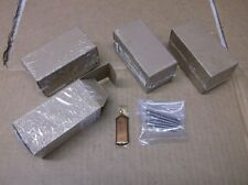 """Lot of 4 SuperTrapp Screw Kits for Mufflers with 3"""" Diameter End Caps - $32 NEW!"""