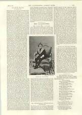1892 Alfonso Xiii Young King Of Spain Lord Warkworth Alnwick Castle