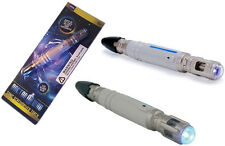 Dr Who: Official BBC Sonic Screwdriver Torch Based On The 10th Dr - New In Pack