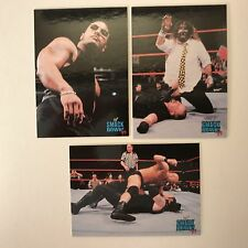PROMO CARDS: WWF SMACKDOWN! Comic Images 1999 WWE: 3 DIFFERENT #P1, #P2 & #P3